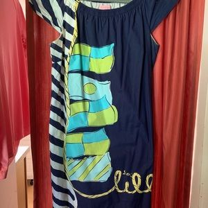 Lilly Pulitzer flag dress